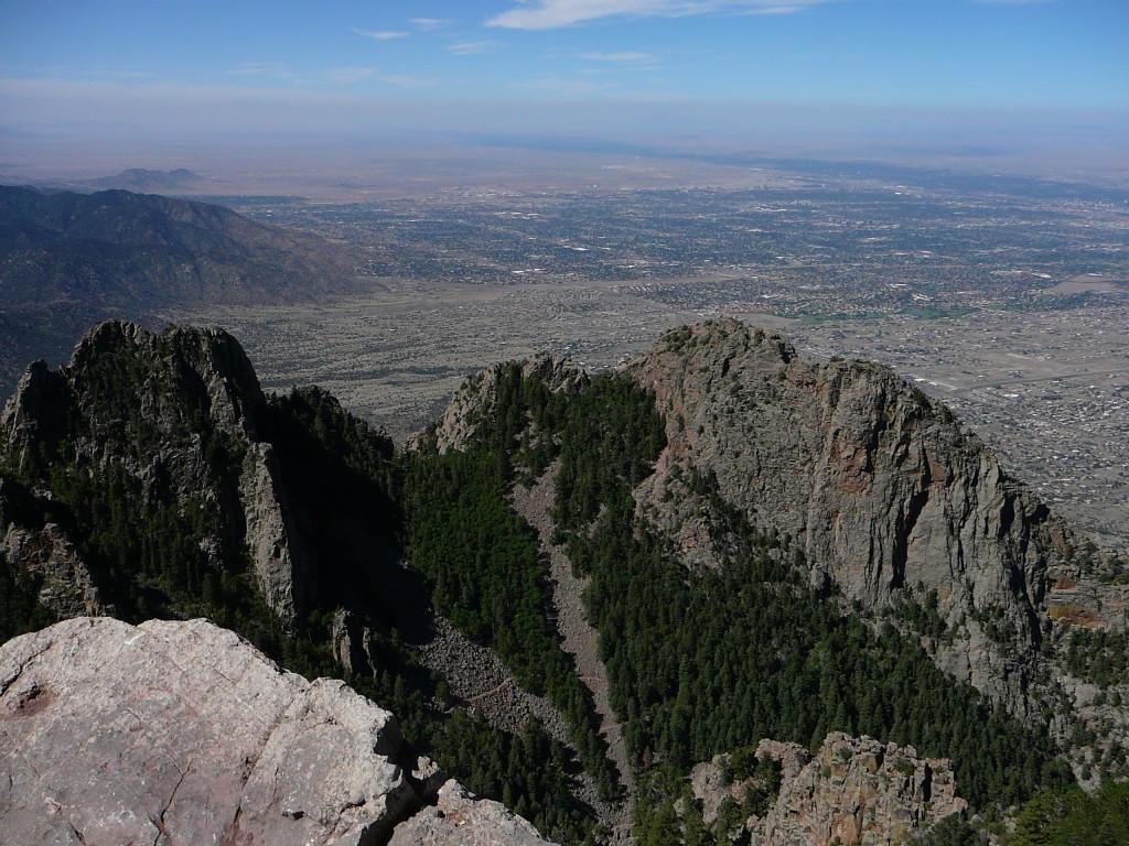 Near the top of Sandia Crest on the La Luz trail in Albuquerque, NM.