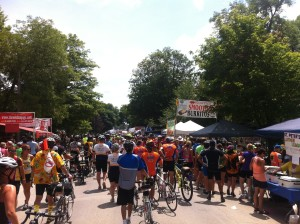 RAGBRAI in Greene, IA